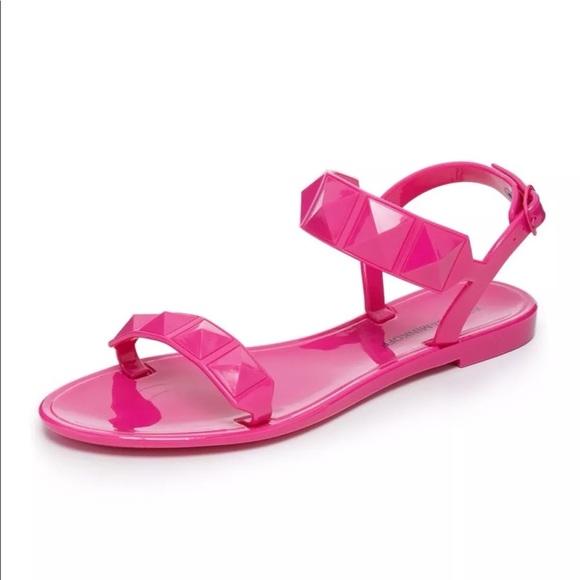 17a9093fbb83 Rebecca Minkoff Jana Jelly Pink Sandals Size 37. M 5b51642b5098a05509da39de
